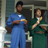 "A still from the film ""Me and Earl and the Dying Girl."""