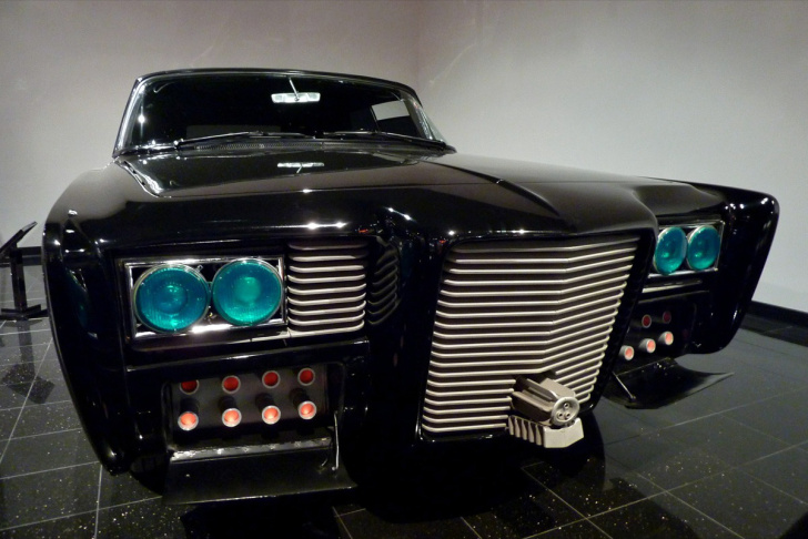 "Green Hornet ""Black Beauty"" (1966 Imperial) at Peterson Automotive Museum"