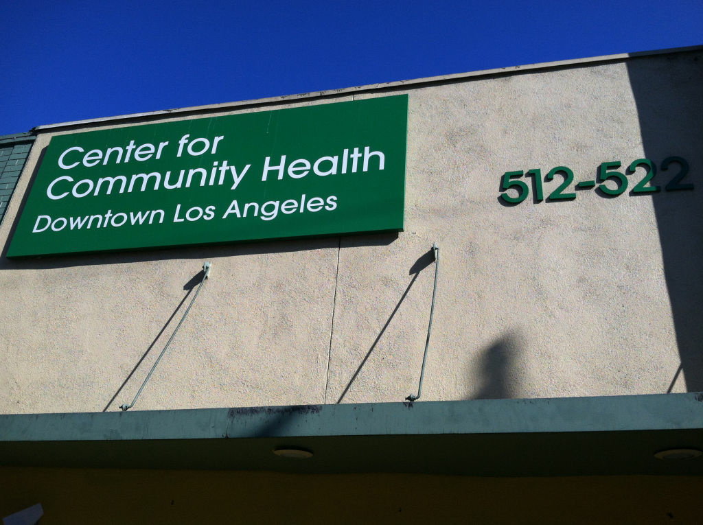 Picture of the Center for Community Health in Downtown Los Angeles.