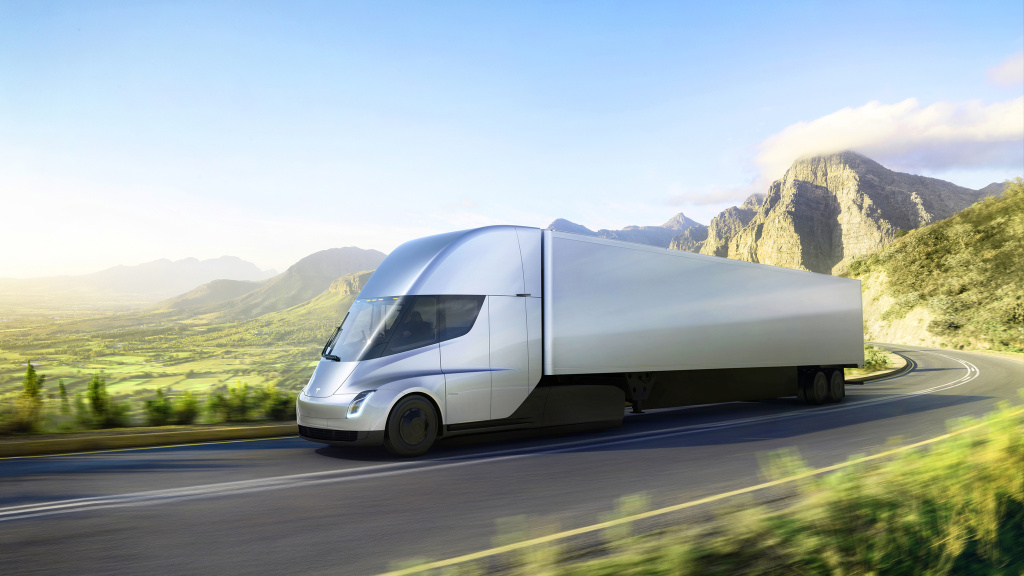 The Tesla Semi can be recharged while it's being unloaded with a global network of solar-powered megachargers that can fuel the battery to 400 miles of range within 30 minutes, according to Tesla CEO Elon Musk.