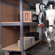 Screenshot from Boston Dynamics video 'Atlas, The Next Generation'