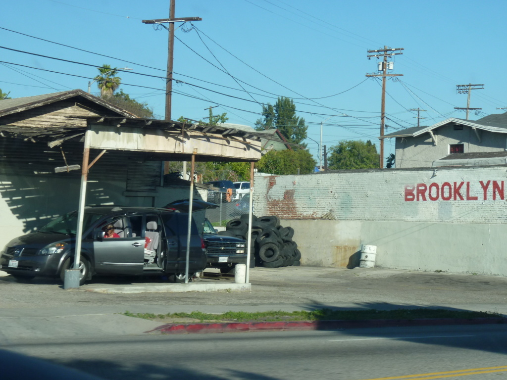 Brooklyn Ave. in Boyle Heights