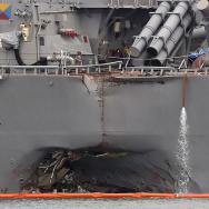 Singapore US Navy Ship Collision