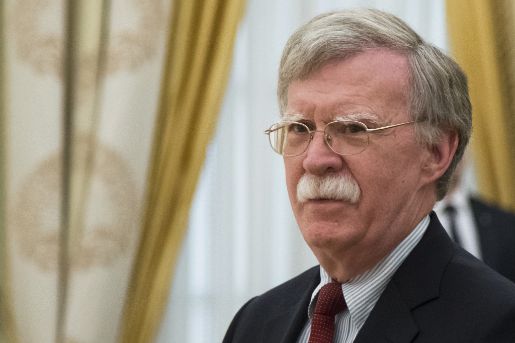 National security adviser John Bolton has been fired.