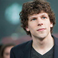 Actor Jesse Eisenberg, who also wrote the new book, Bream Gives Me Hiccups.