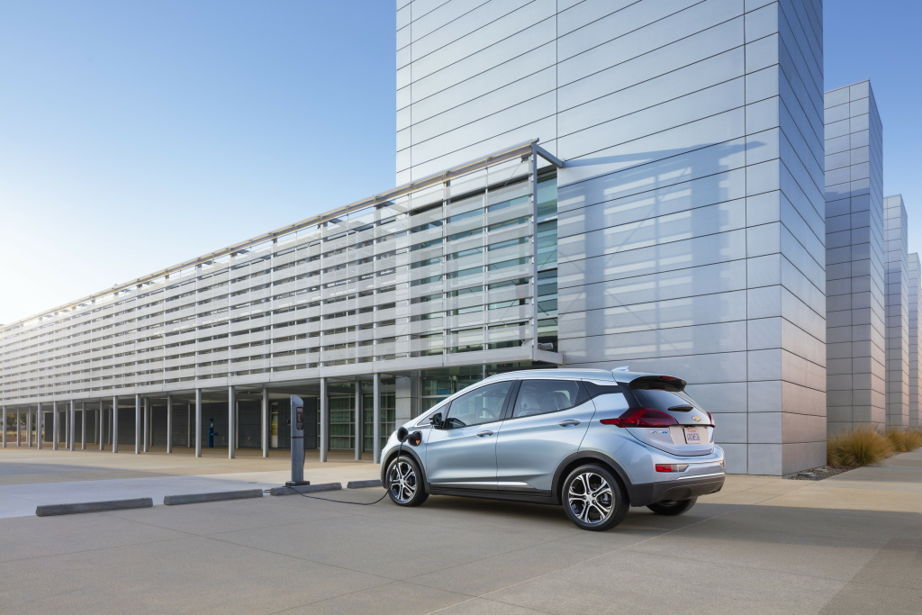 The all-electric Chevy Bolt EV would cost the same as a comparable gas-powered car under the new California Electric Vehicle Initiative proposed in the California legislature.