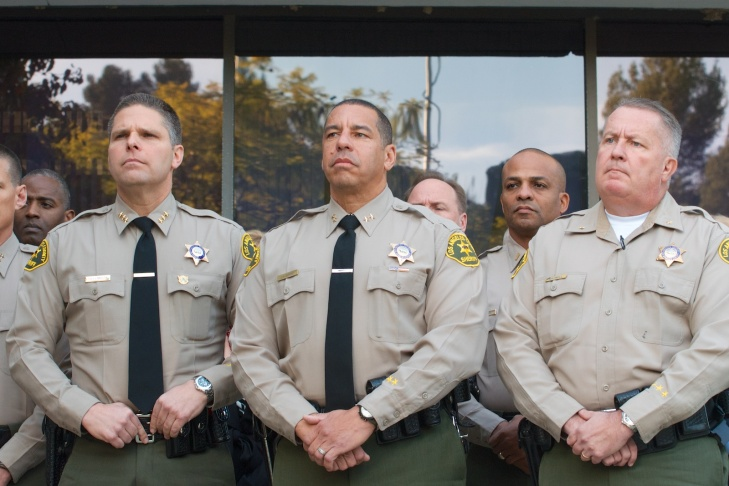 On Monday Dec. 9 Los Angeles Sheriff Lee Baca held a press conference to respond to the F.B.I. arrests of 17 Los Angeles sheriff's deputies.