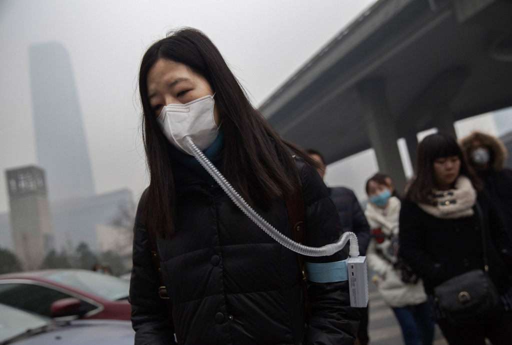 One in six deaths worldwide in 2015 were tied to pollution