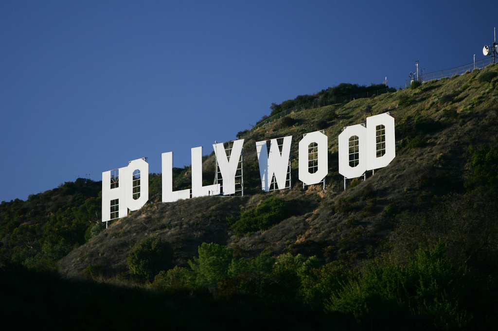 The Hollywood Sign is seen on November 16, 2005 in Los Angeles, California.