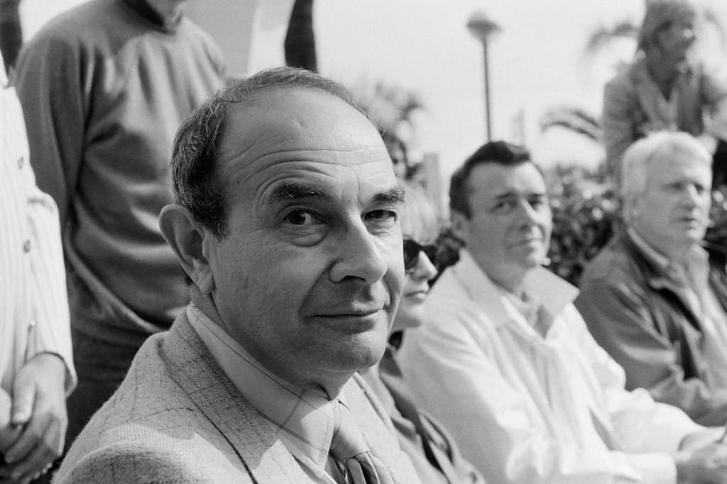 Portrait taken on May 10, 1984 shows Us director Stanley Donen during the International Film Festival in Cannes.