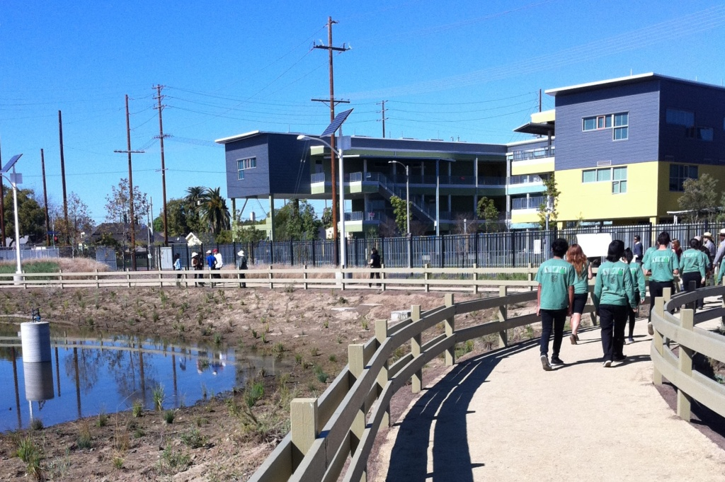 South Central Los Angeles Wetlands Park Opening 2012