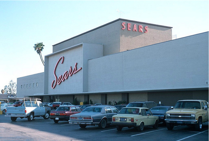 What Sears used to look like.