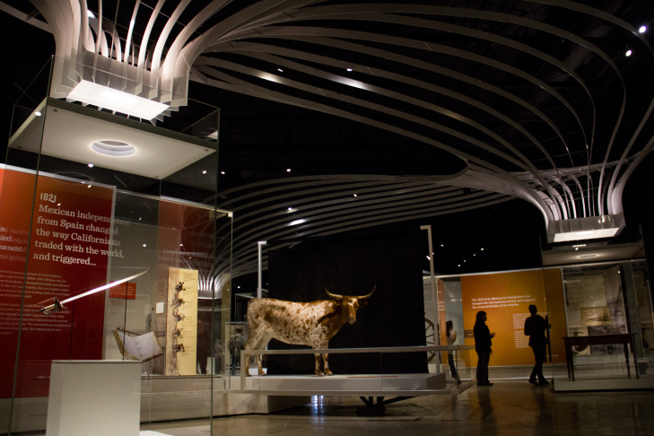 The Natural History Museums's permanent exhibition, Becoming Los Angeles, opens to the public July 14, 2013.