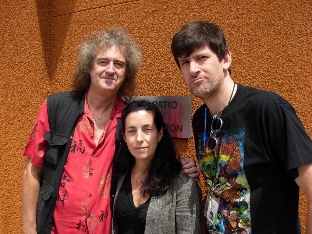 Brian May, Elena Vidal - coauthors of