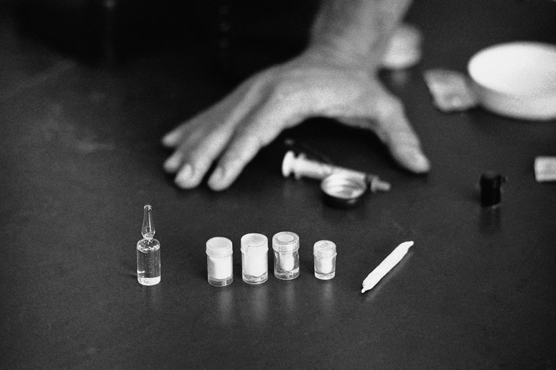 Some of the drugs reportedly used by American soldiers in Saigon, South Vietnam, shown Aug. 11, 1971.