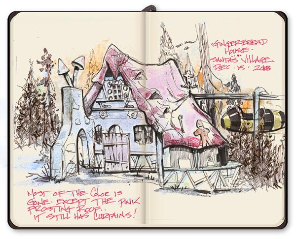 Santa's Village, a Christmas ghost town in the San Bernardino Mountains