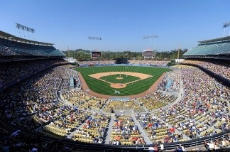 Dodger Stadium on April 17, 2011 in Los Angeles, California.
