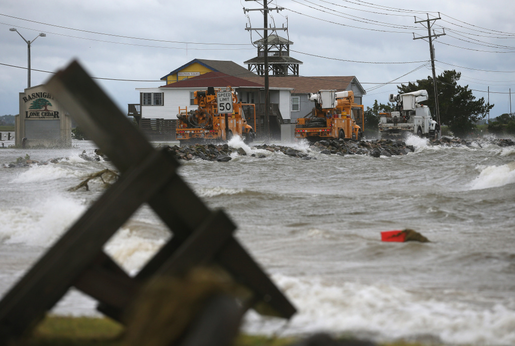 North Carolina Coast Survives Hurricane Arthur 89 3 Kpcc