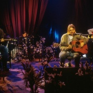 Kurt Cobain and Nirvana during the taping of MTV Unplugged at Sony Studios in New York City on Nov. 18, 1993.