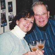 Jeanne Nau with her husband, Jim.