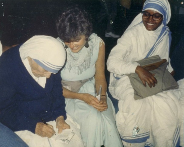 Project Nightlight co-founder Cassandra Christenson had a chance encounter with Mother Theresa, who told her to start working with AIDS.