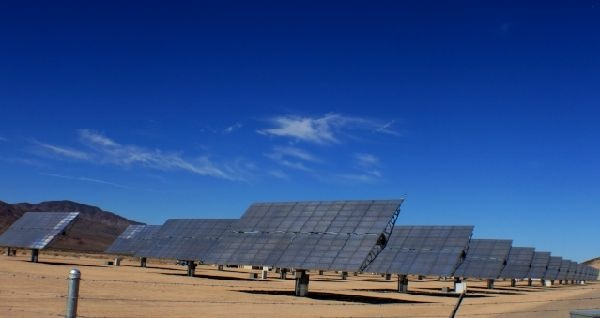 Newberry Solar 1 in Newberry Springs east of Barstow is one of the first small scale solar farms to be constructed in unincorporated San Bernardino County.