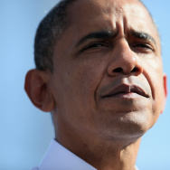 President Obama Campaigns In Florida, Day After Last Presidential Debate