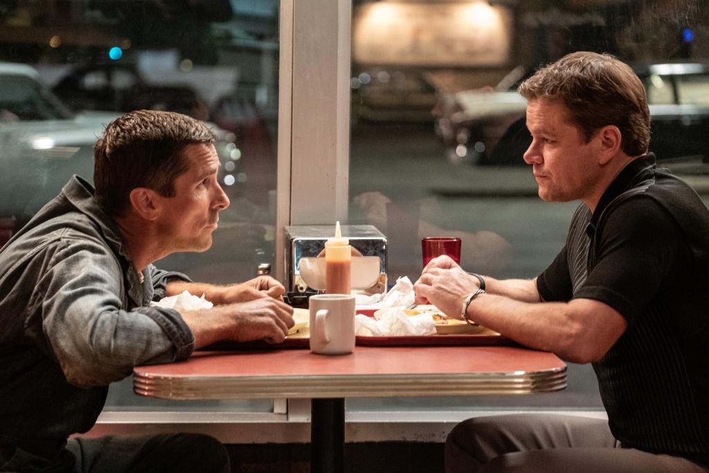 Christian Bale and Matt Damon in