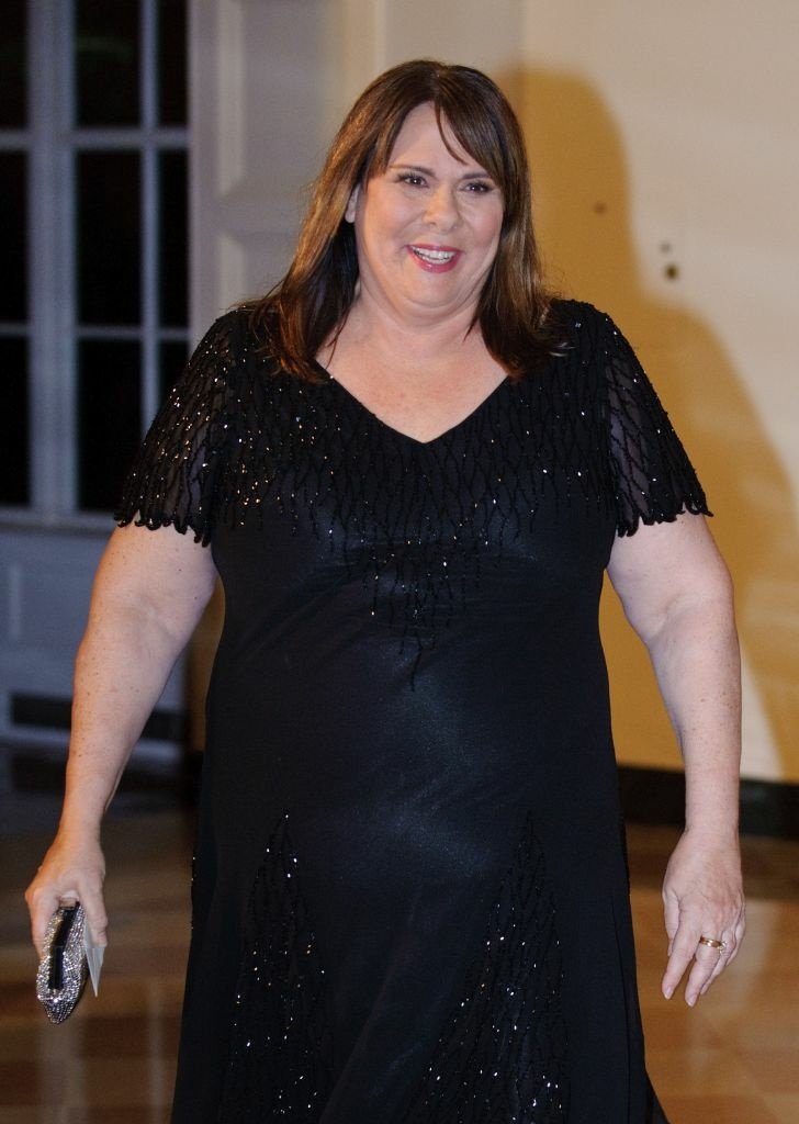 CNN anchor Candy Crowley on October 13, 2011 at the White House in Washington, DC.