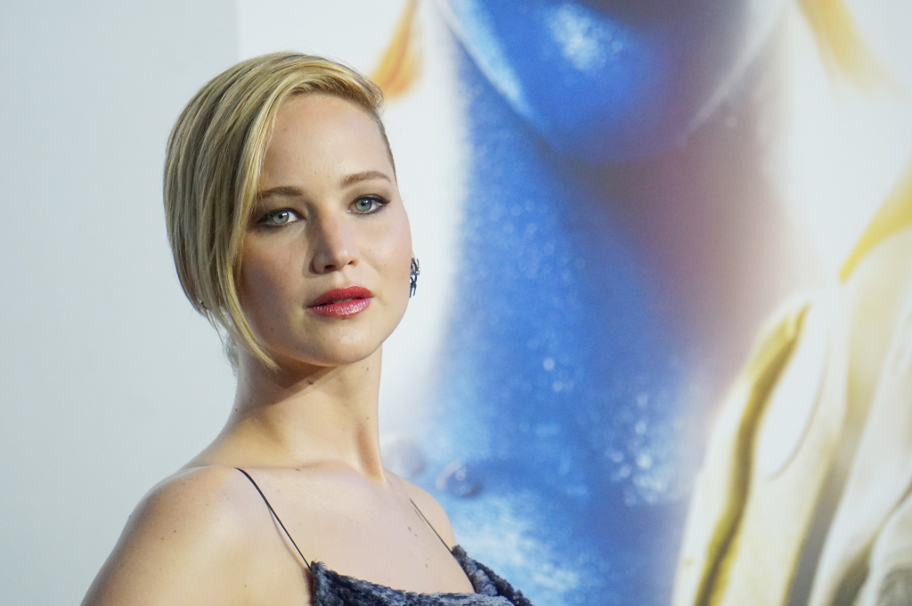 File: Actress Jennifer Lawrence attends the