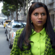 After years of being treated like she's not there, Mindy Kaling realizes she just might be invisible.