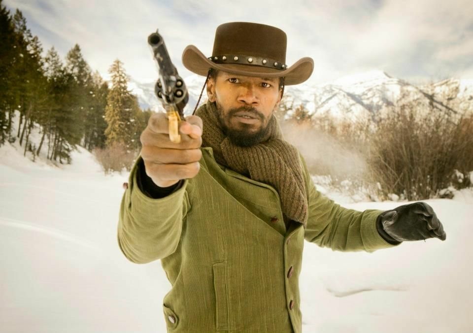 Jamie Foxx as Django in Quentin Tarantino's