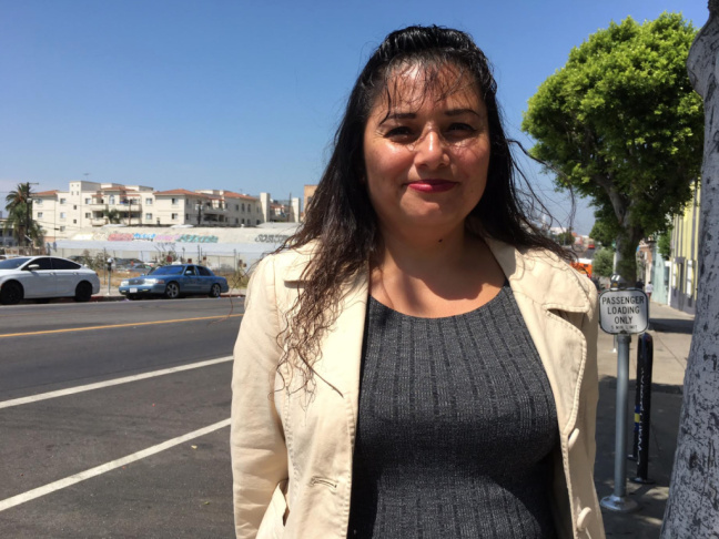 Evelyn Hernandez arrived in the U.S. from El Salvador in 1992, shortly after the end of her country's civil war. She eventually obtained what is knows as Temporary Protected Status, which lets her live and work in the U.S. legally.