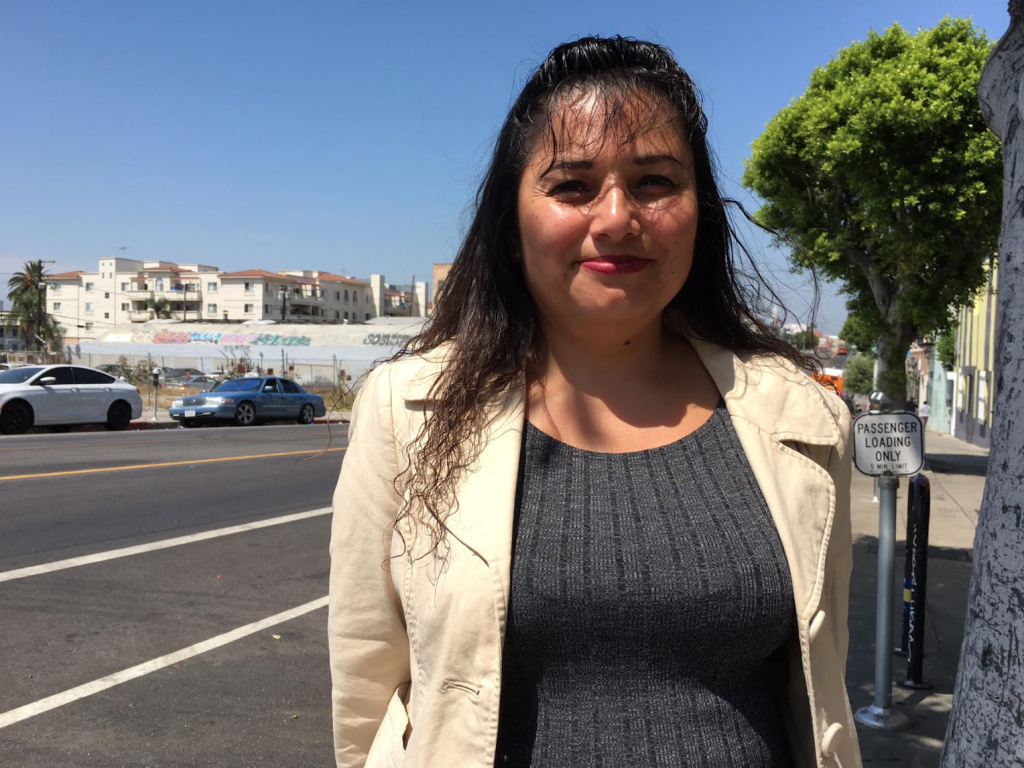 Evelyn Hernandez arrived in the U.S. from El Salvador in 1992, shortly after the end of her country's civil war. She eventually obtained what is knows as Temporary Protected Status, which lets her live and work in the U.S. legally and is held by roughly 350,000 Central American immigrants.