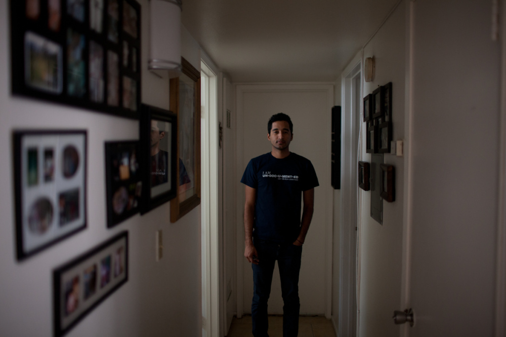 Originally from Medellin, Colombia, John Perez came to the states when he was three years old.  He is a strong leader in the queer, undocumented movement.