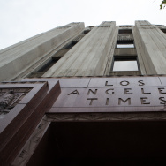 The Los Angeles Times building in downtown L.A.