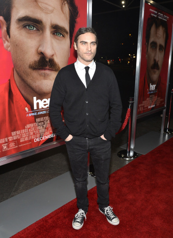 "Premiere Of Warner Bros. Pictures' ""Her."" - Red Carpet"