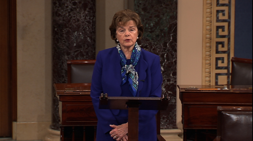 Sen. Feinstein says she doesn't have the needed 60 votes to bring her drought legislation to the floor