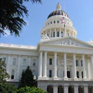 California State Capitol Building in Sacramento.