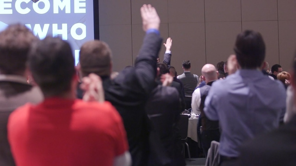 Video of an alt-right conference in Washington, D.C., where Trump's victory was met with cheers and Nazi salutes.  Read the full article: https://www.theatlantic.com/politics/archive/2016/11/richard-spencer-speech-npi/508379/