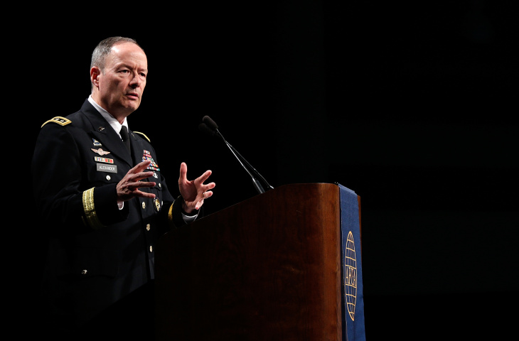 NSA Director Gen. Keith Alexander Speaks At Armed Forces Cyber Symposium