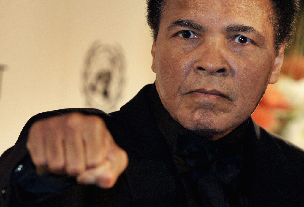 Boxing legend Muhammad Ali attends the Otto-Hahn-Peace-Medal Award Presentation  on December 17, 2005 in Berlin, Germany.
