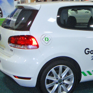 VW Golf TDI - one of the models that uses software to fool emissions tests.