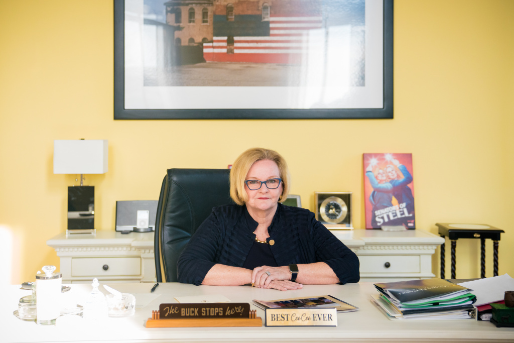 Sen. Claire McCaskill of Missouri characterized her 2018 electoral defeat as a
