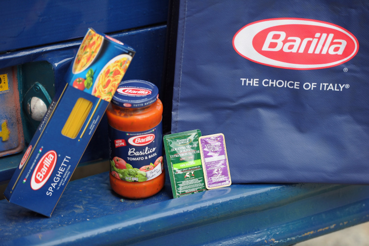 Barilla Feeds Thousands Of New Yorkers Free Pasta Dinners As Part Of Its Summer Of Italy Celebration; Donates $20,000 To Food Bank For New York City