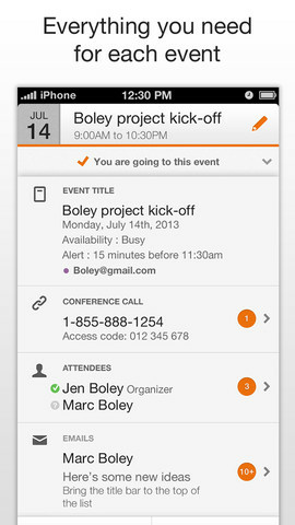 Tempo is a smart calendar that helps organize your day