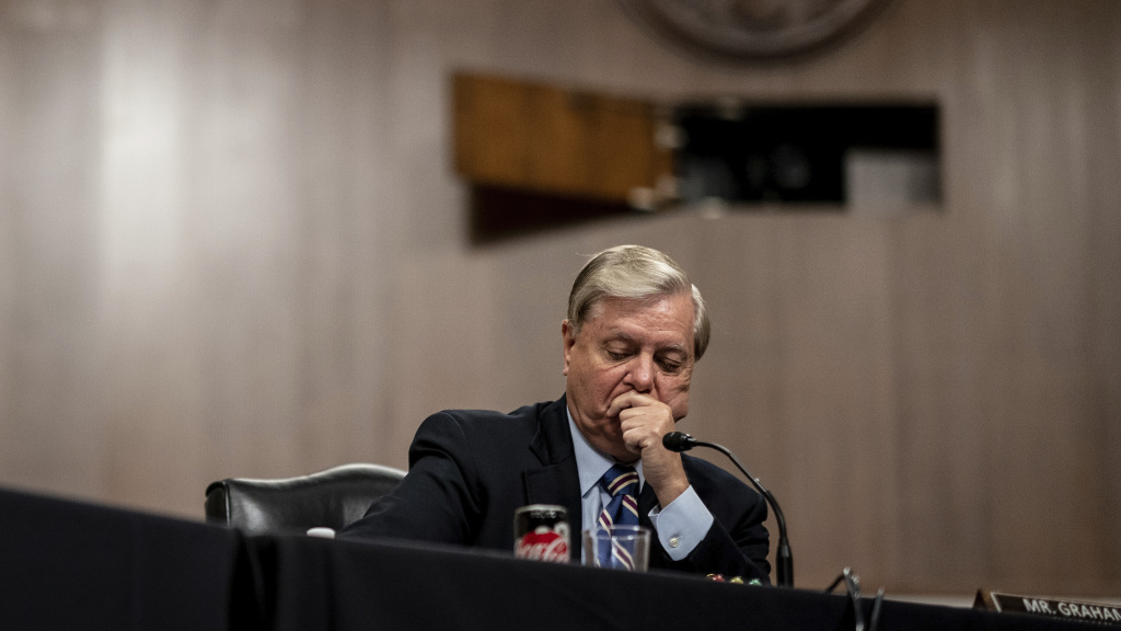 Chairman Lindsey Graham, R-S.C., pictured during a Senate Judiciary hearing on June 11, is holding a hearing on police use of force on Tuesday.