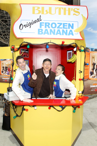 The Arrested Development banana stand in Culver City, Monday, May 20, 2013.