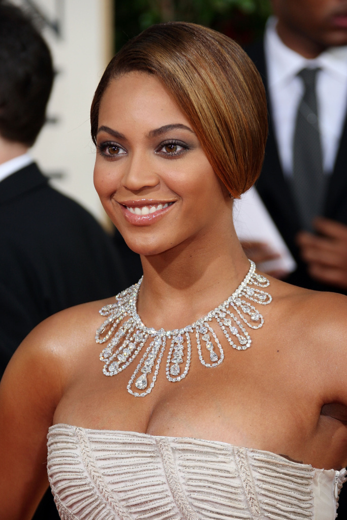 BEVERLY HILLS: Singer Beyonce arrives at the 66th Annual Golden Globe Awards