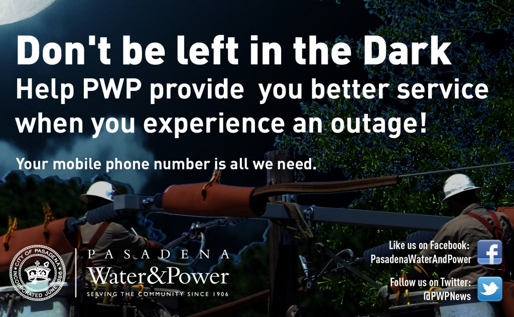 Pasadena Water & Power's New Outage Management System